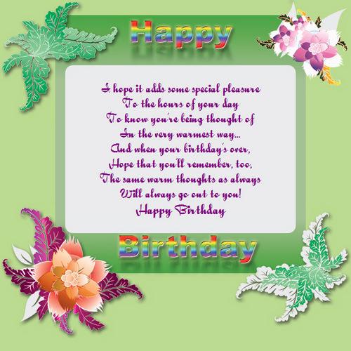 Captivating Sample Happy Birthday Email   Example Invitation Happy Birthday