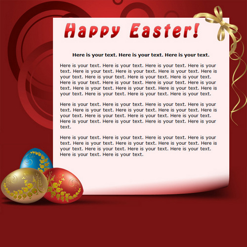 Happy Easter!   Free HTML E-Mail Templates