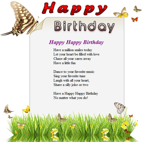 happy birthday free html e mail templates