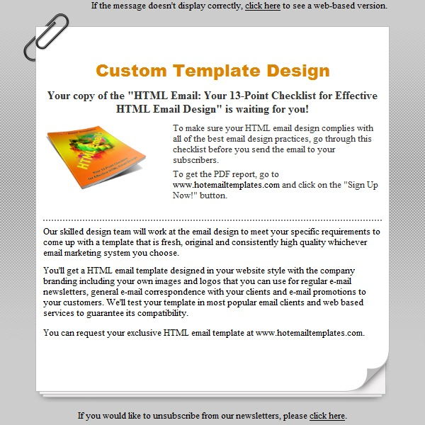 Reminder free html e mail templates reminder pronofoot35fo Image collections