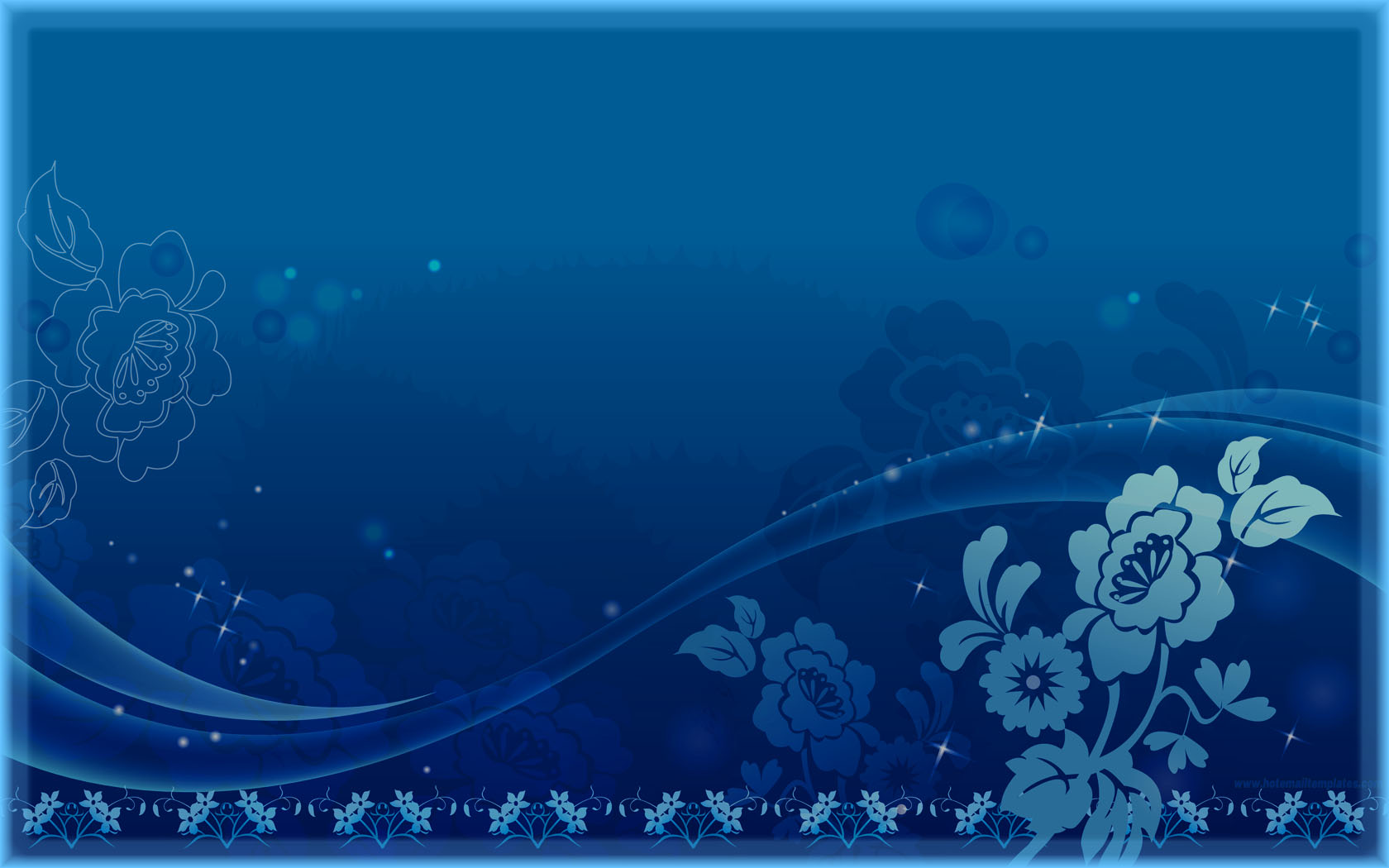 dancing flowers free html e mail templates