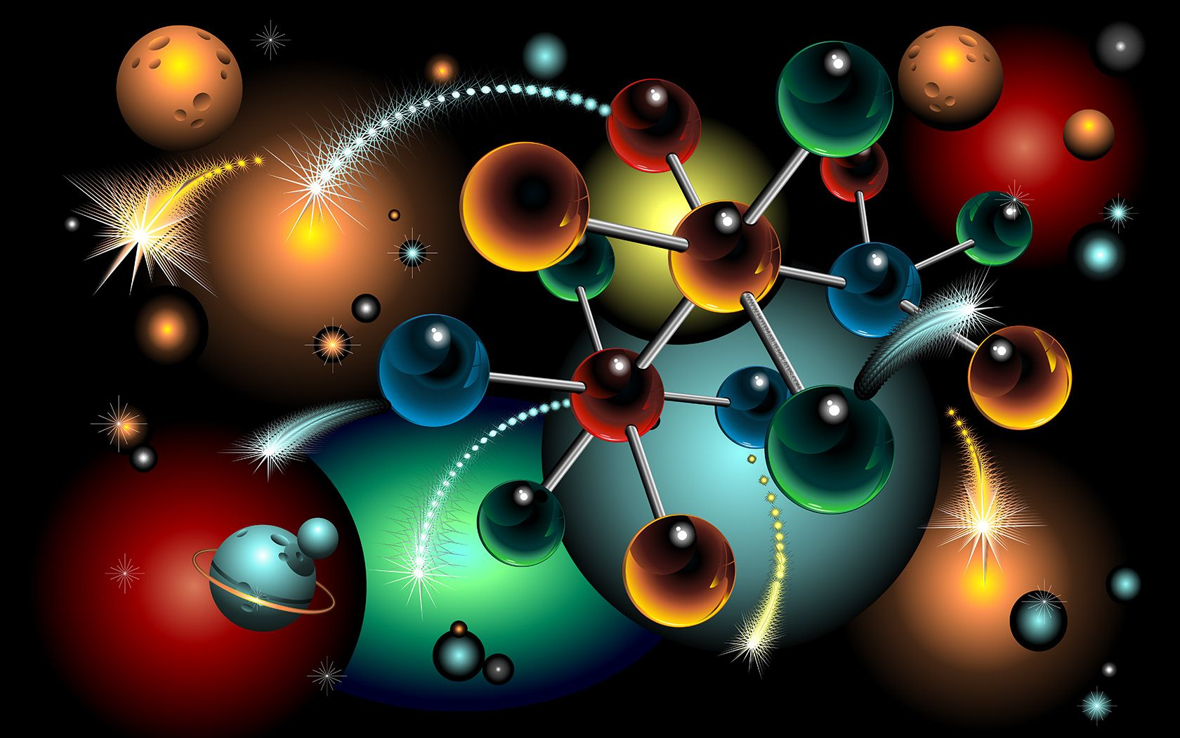 molecules 2 wallpaper - photo #21