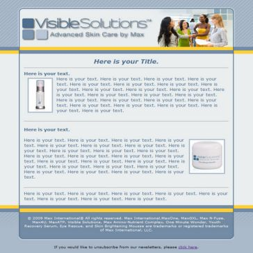 Email Template: Example 24
