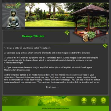 Email Template: Example 26