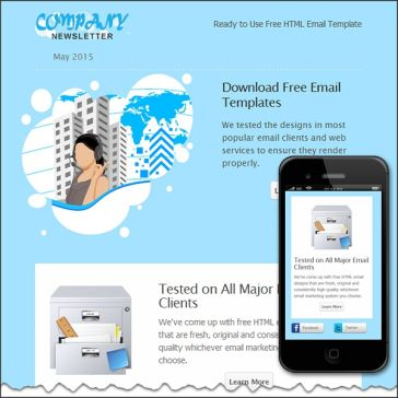 Email Template: Always connected