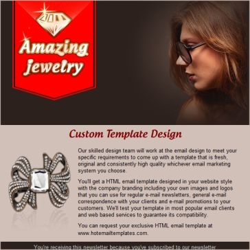 Email Template: Amazing Jewerly