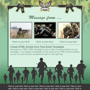 Email Template: From the Army