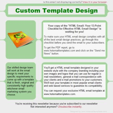 Email Template: Associated