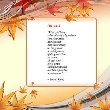 Email Template: Autumn