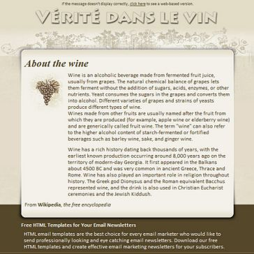 Email Template: Beeswing