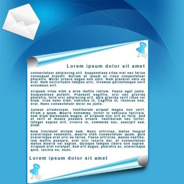 Email Template: Blue List