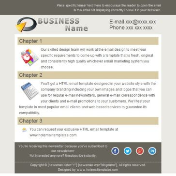 Email Template: Business Name