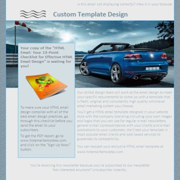 Email Template: Cabrio