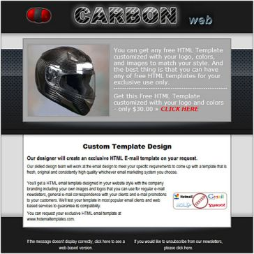 Email Template: Carbon