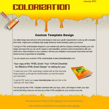 Email Template: Colorization