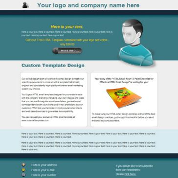 Email Template: Corporation news