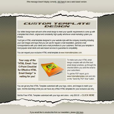 Email Template: Cover Note