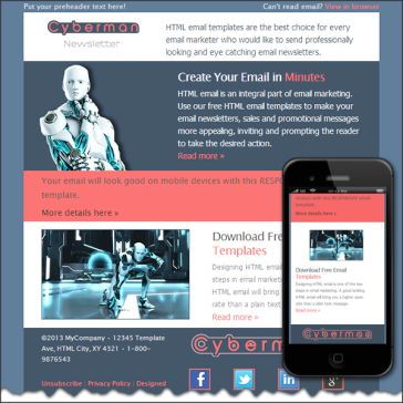 Email Template: CyberMan