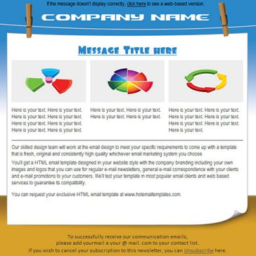 Email Template: Drying