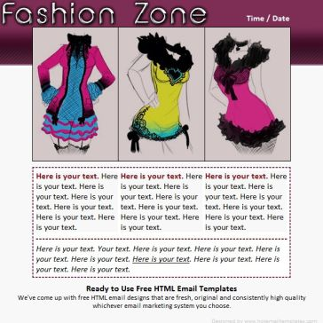 Email Template: Fashion Zone