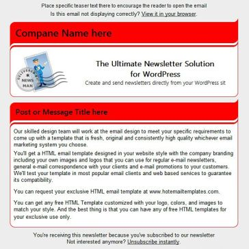Email Template: Flexion