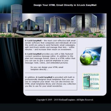 Email Template: Future City