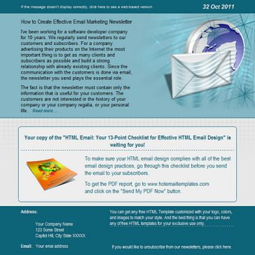 Email Template: Global