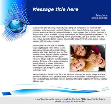 Email Template: Globe Mail