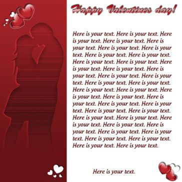 Email Template: Happy Valentine's day