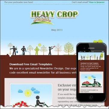 Email Template: Harvest