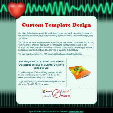 Email Template: Health