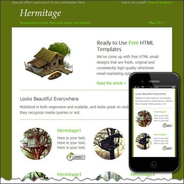 Email Template: Hermitage