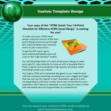 Email Template: Hexahedron