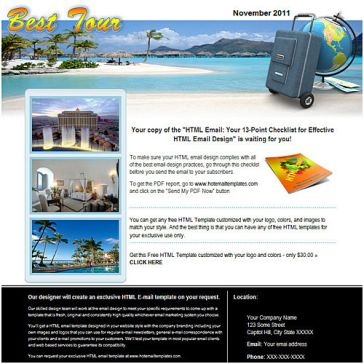Email Template: About Hotel
