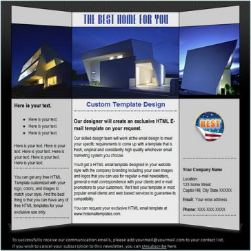Email Template: i-House