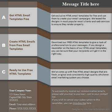 Email Template: Info-Z
