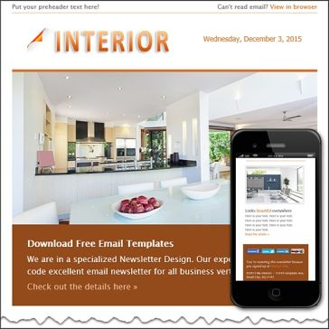 Email Template: Interior