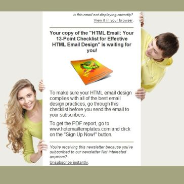 Email Template: Join Us