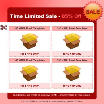 Email Template: Time Limited Sale