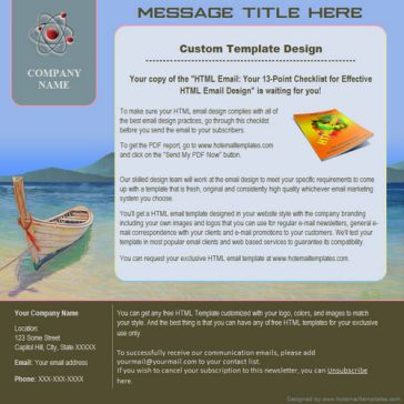 Email Template: Longboat