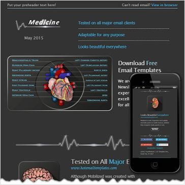 Email Template: Medicine