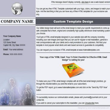Email Template: Neon glow