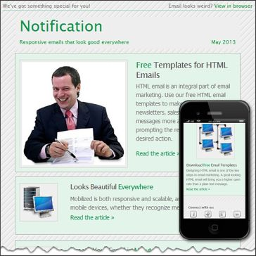 Email Template: Notification