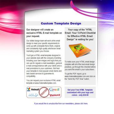 Email Template: Nuclear Flames