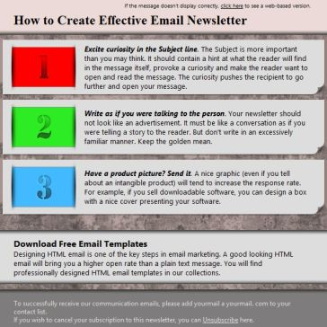 Email Template: Order
