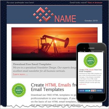 Email Template: Petroleum