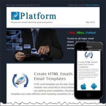 Email Template: Platform