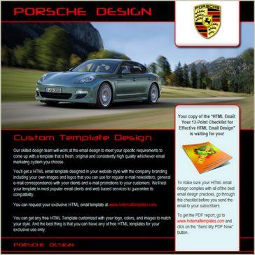 Email Template: Porsche Design