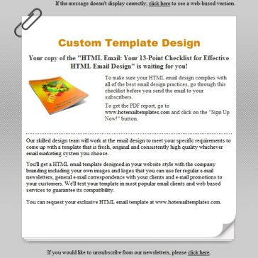 Email Template: Reminder