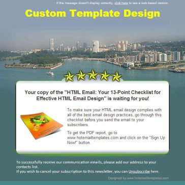 Email Template: Seaport